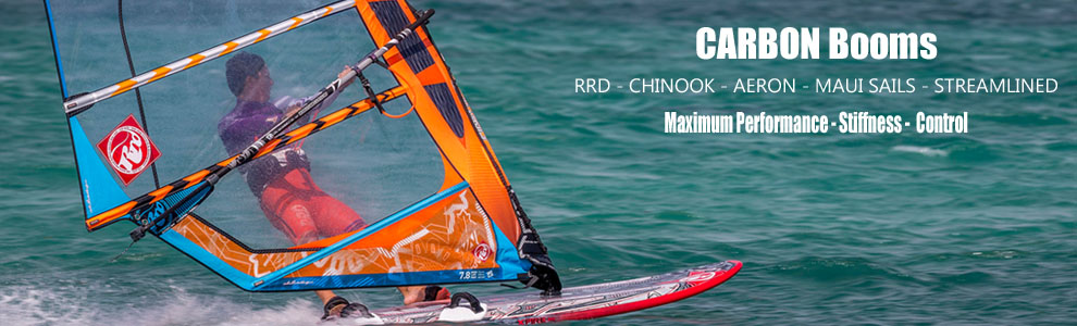 Windsurfing Booms: Carbon