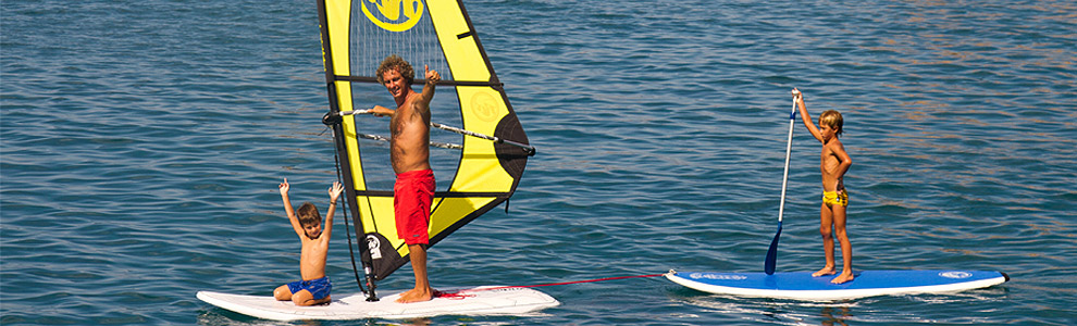 Entry Level/Family/Recreational Windsurfing Rig Packages