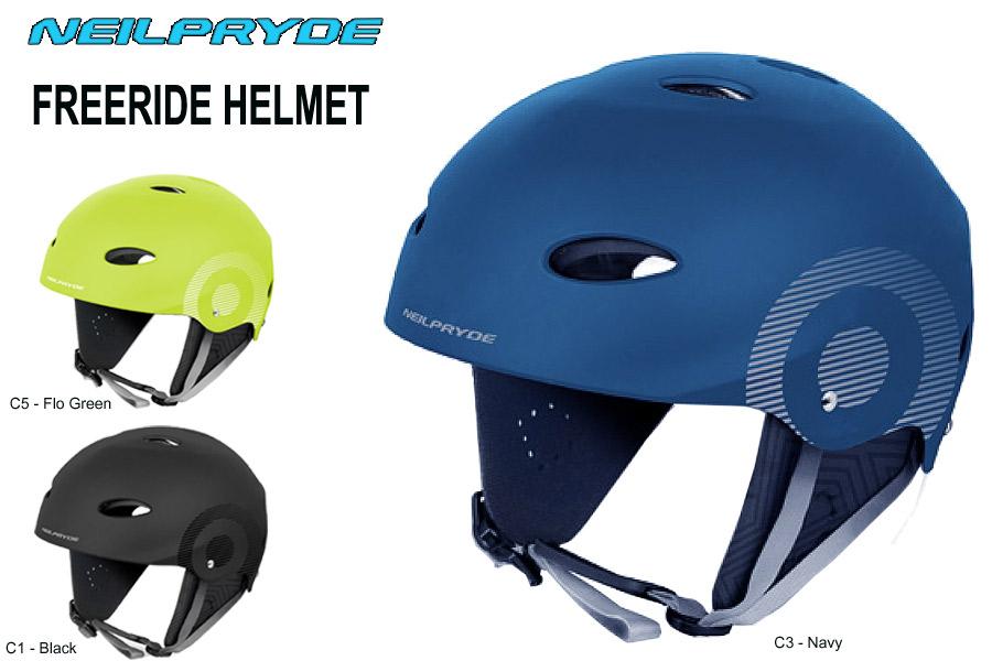 Neil Pryde 2019 Helmet Freeride Light Blue