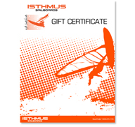 Isthmus Sailboards Gift Certificates
